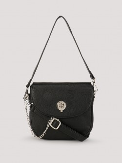 Black Sling Bags With Gold Chain - Online Black Sling Bags With ...