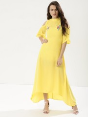 RIDRESS  Maxi With Embroidery Detail