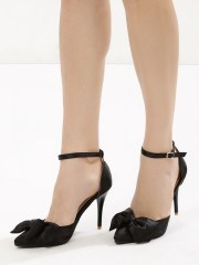 MY FOOT COUTURE  Bow Detail Heeled Sandals
