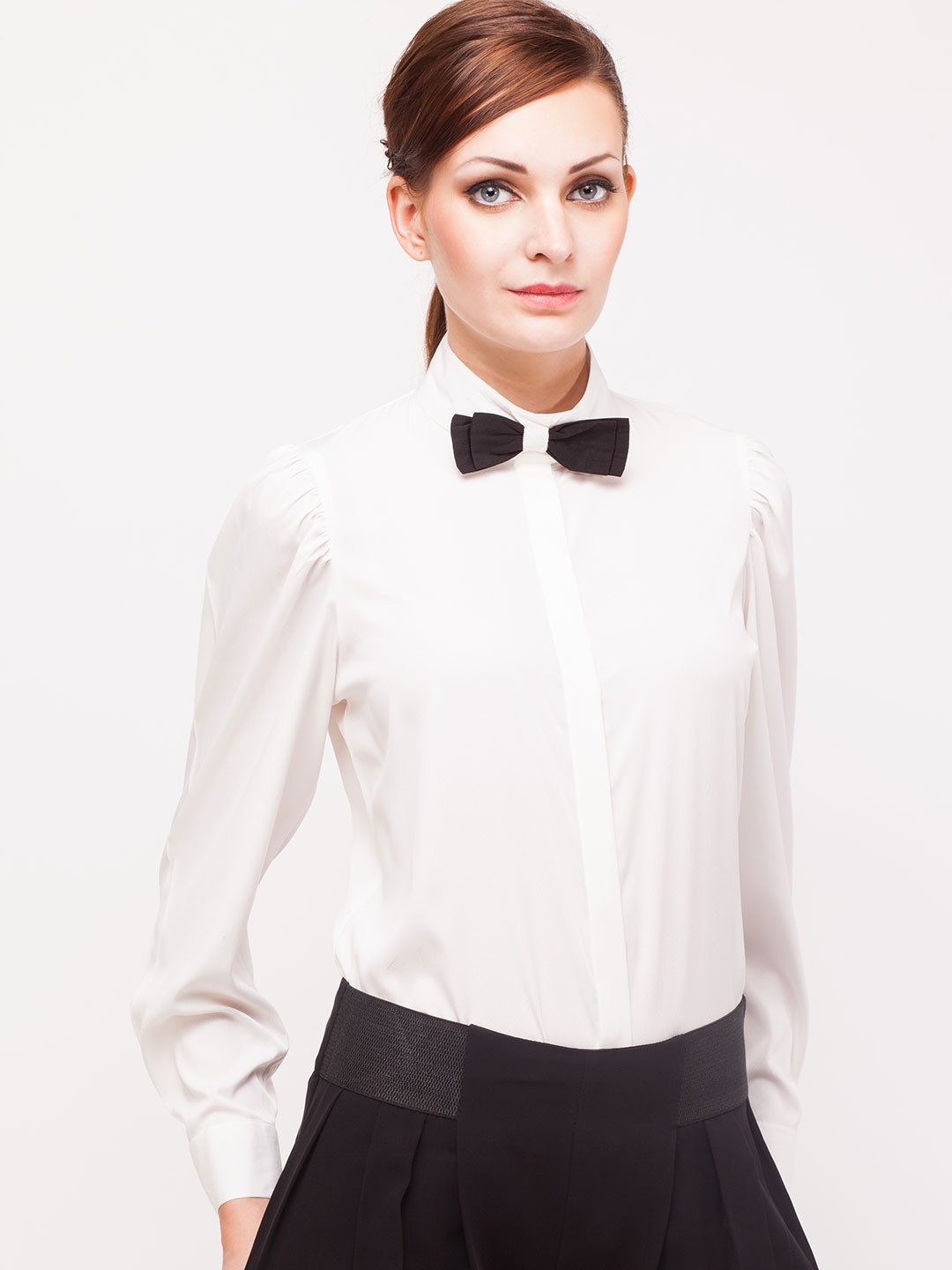 Free shipping BOTH ways on white bow tie blouse, from our vast selection of styles. Fast delivery, and 24/7/ real-person service with a smile. Click or call