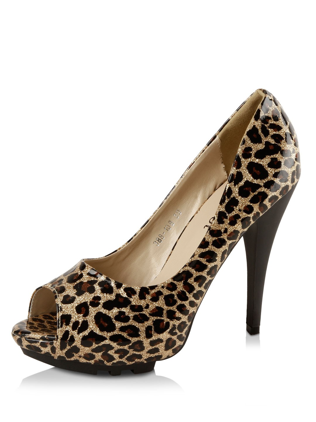 Buy my foot leopard print peep toes for women women 39 s - My peep toes ...