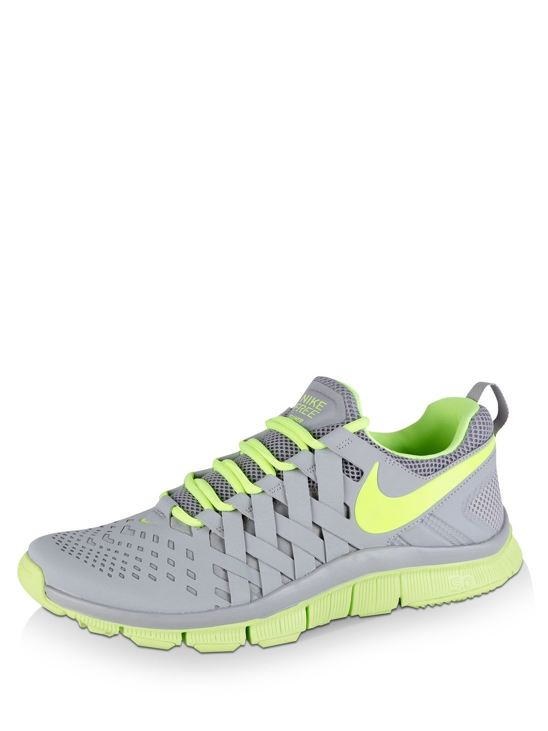 buy nike free trainer 5 0 for men men 39 s grey sports trainers sneakers online in india. Black Bedroom Furniture Sets. Home Design Ideas