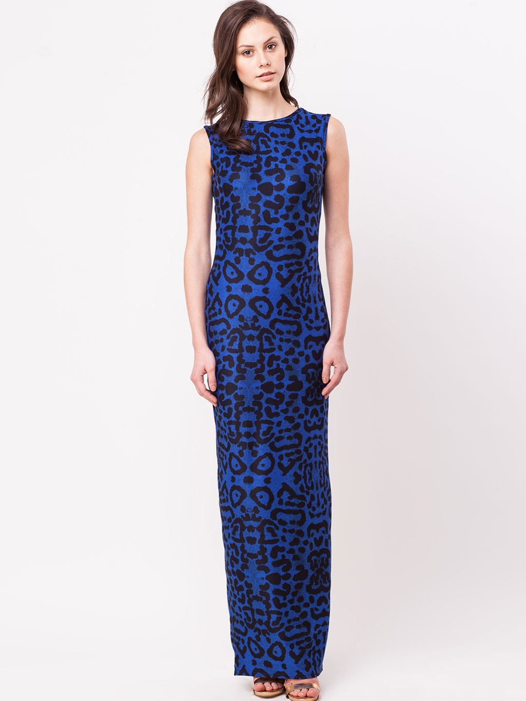 Fantastic  Women  Women39s PorcelainFloral Print Maxi Dresses Online In India