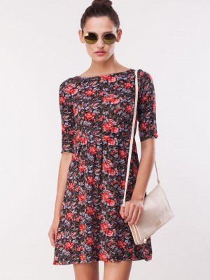 e4dc7c44a274 ... buy catwalk88 pixie floral tunic dress for women women s multi tunic dresses  online in india ...