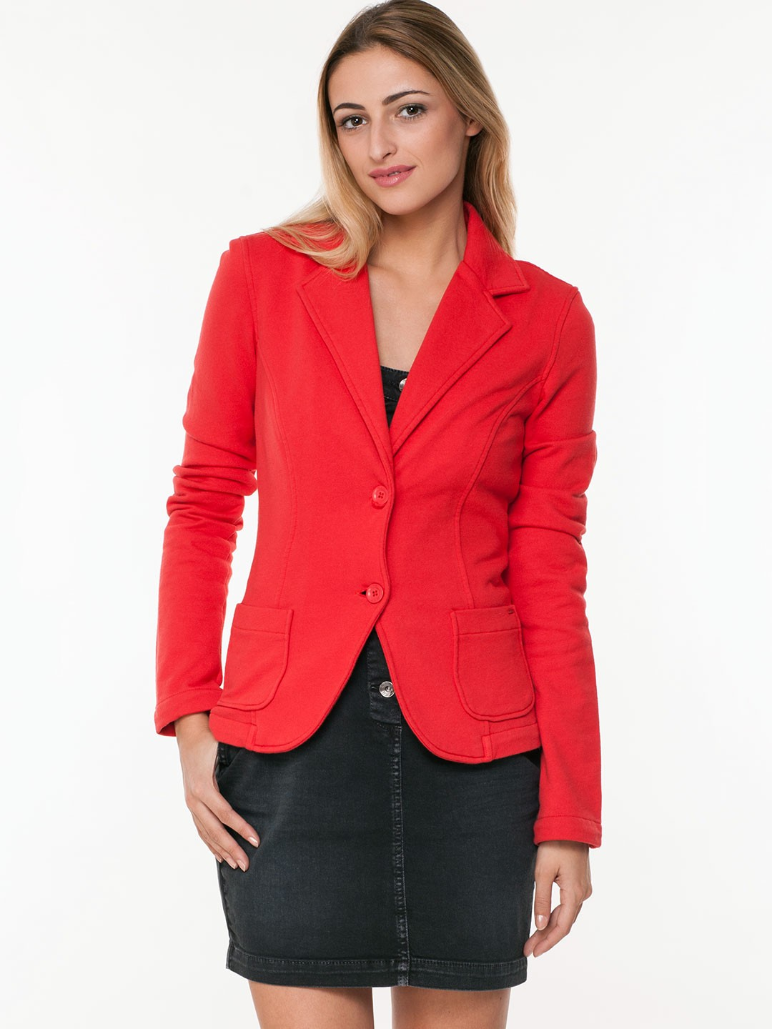 Buy GAS Semi-Formal Jacket For Women - Womenu0026#39;s Red Regular Jackets Online In India