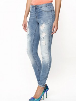 Ripped ladies jeans india – Global fashion jeans collection