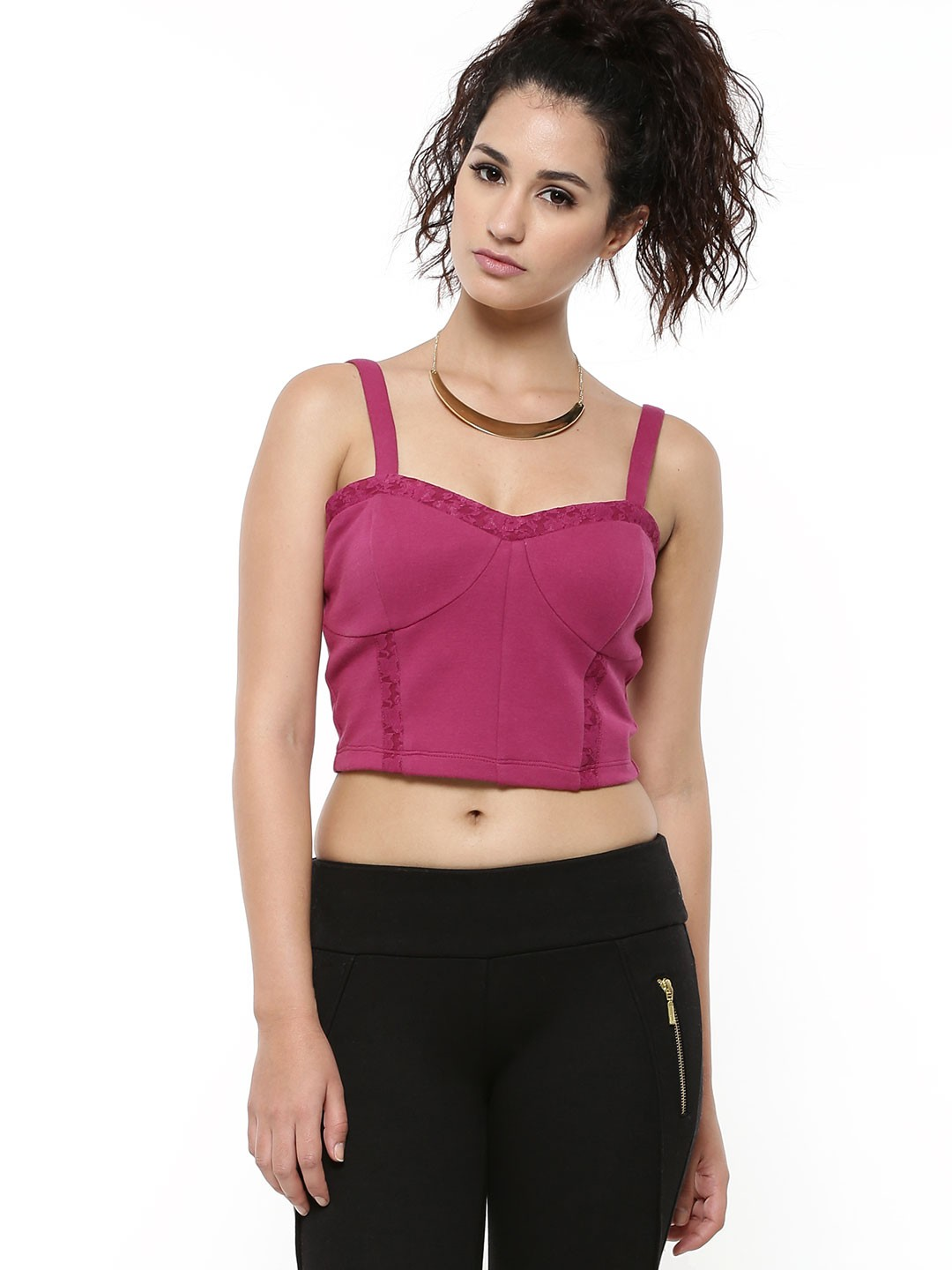 Click here to find out about the Velvet Cut Out Bralet from Boohoo, part of our latest Evening Tops collection ready to shop online today!