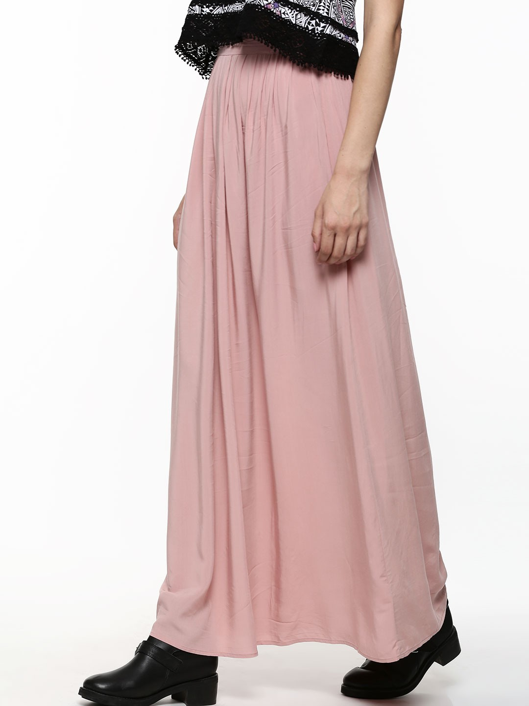 buy new look woven maxi skirt for s pale