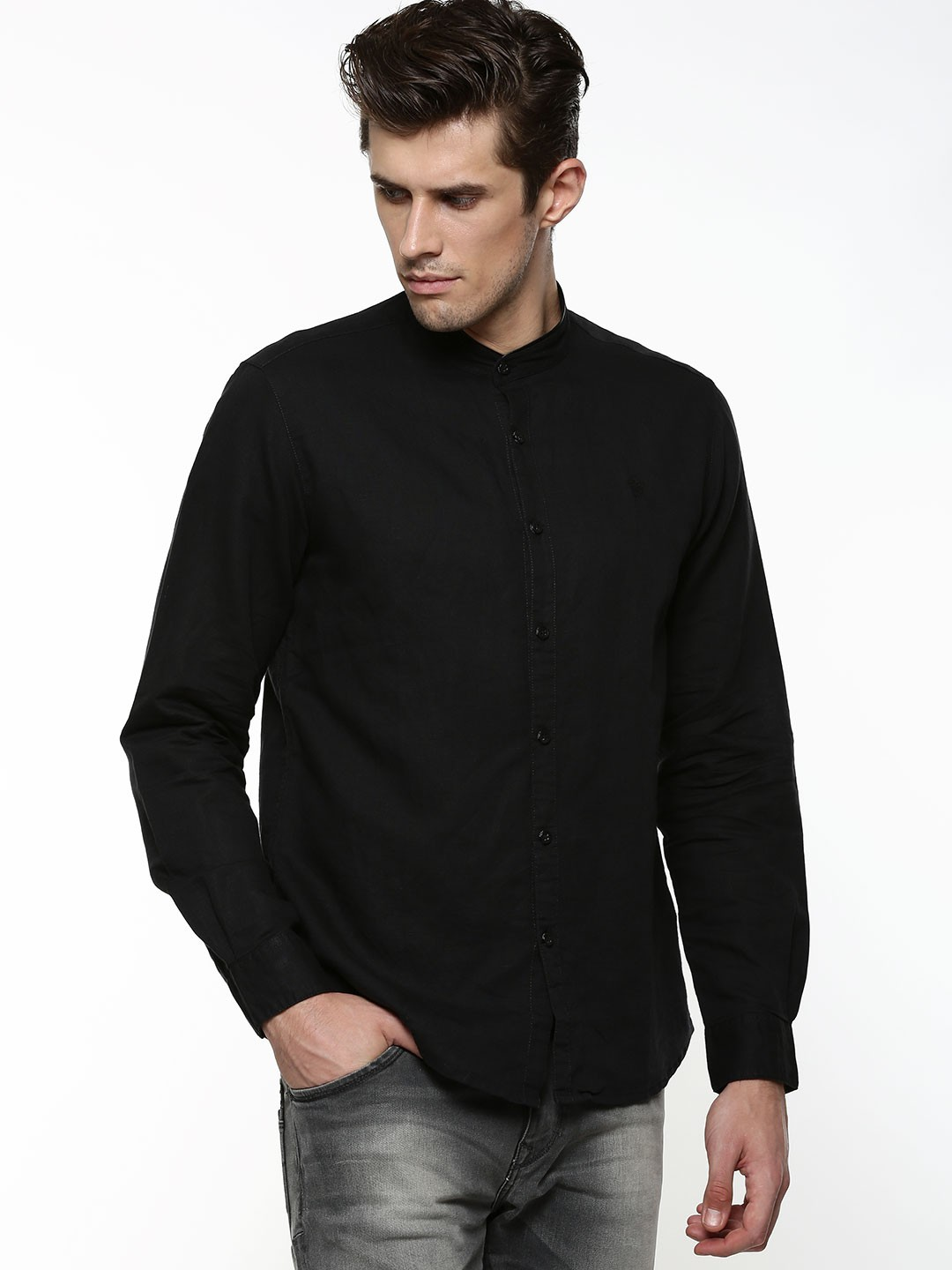 Find mandarin black shirt at ShopStyle. Shop the latest collection of mandarin black shirt from the most popular stores - all in one place.