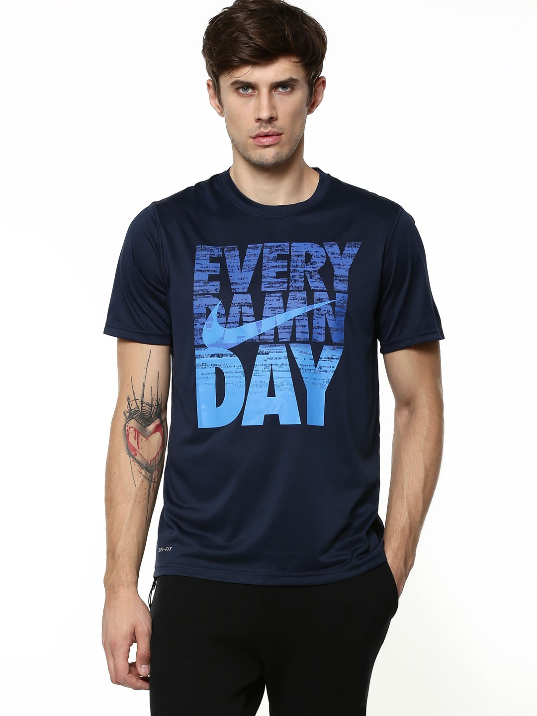 buy nike every damn day print tshirt for men mens blue