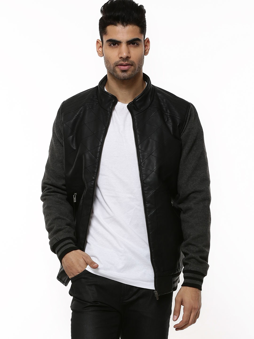 2a48a53f20 Buy PEPE JEANS Quilted Jacket For Men - Menu0026 39 s Black Jackets Online