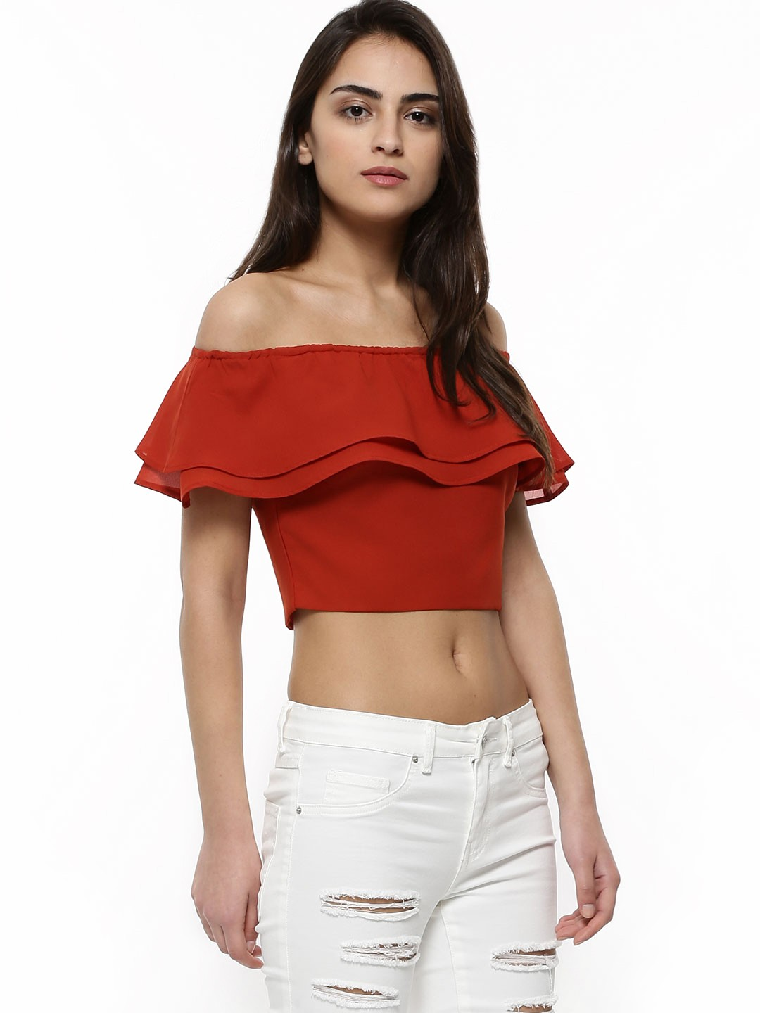 Buy Crop Tops online in India to have easy access to services like cash on delivery, return, refund and exchange. --Moreover, you can also make the payment of the purchased product through online modes like net-banking, credit card/debit card and wallets hence, experiencing a trouble-free moment while shopping.