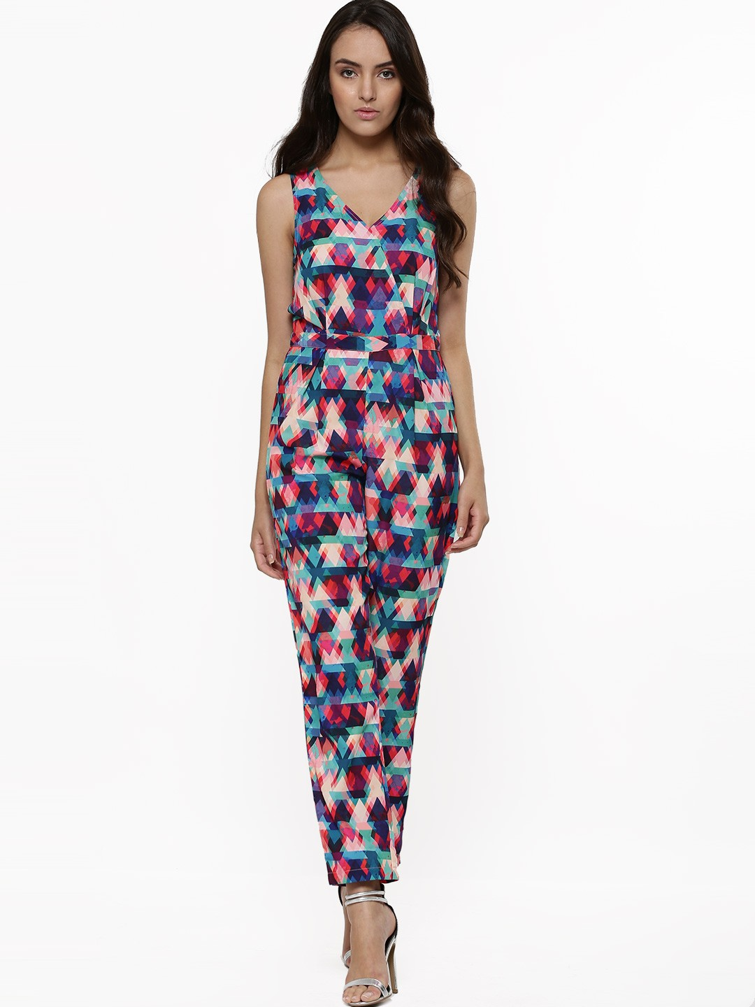 Buy VERO MODA Printed Jumpsuit For Women - Womenu0026#39;s Multi Jumpsuits Online In India