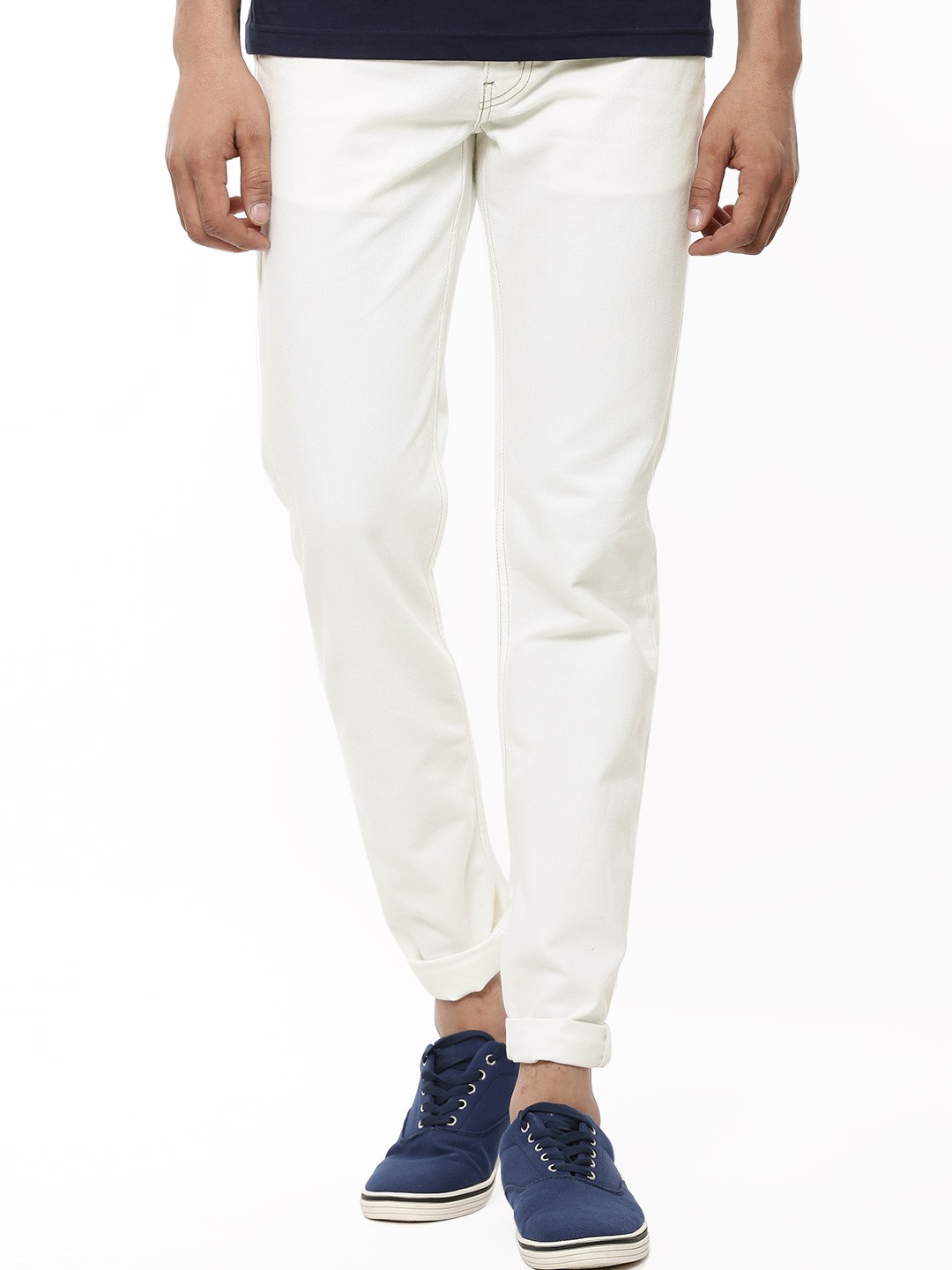 Buy LEVI'S 511 Slim Fit Stretch Jeans For Men - Men's Off-White ...