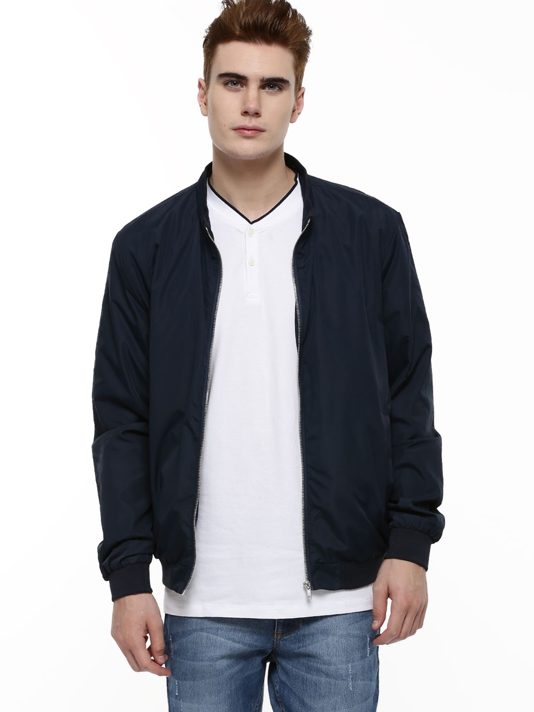 Buy SELECTED HOMME Bomber Jacket For Men - Men's Blue/Multi Bomber ...