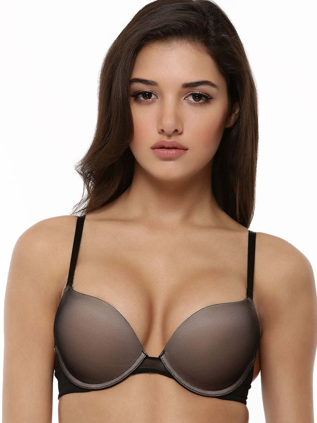 Buy MAGIC Double Push-Up Bra For Women - Women's Black Brassiere ...