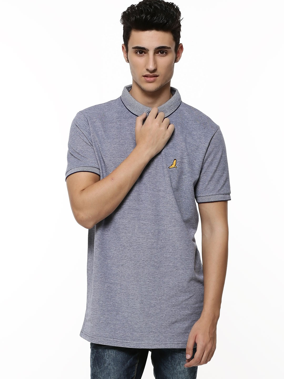 Buy brave soul three button polo shirt for men men 39 s for 3 button polo shirts