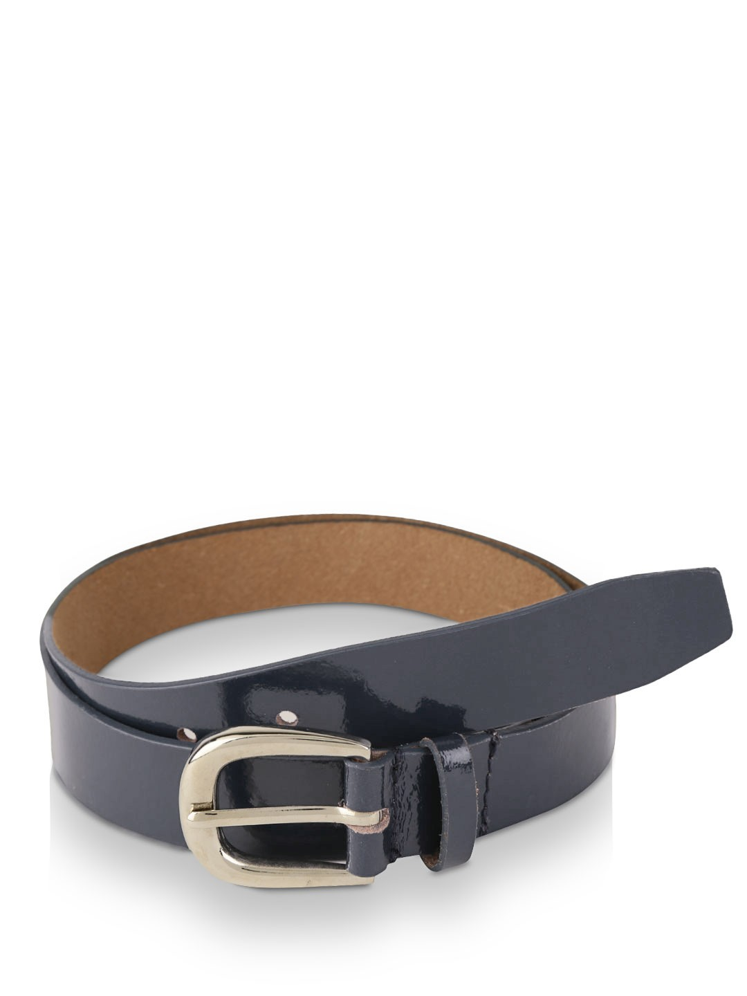 Buy PARADIGM DESIGN LAB Patent Leather Belt For Men