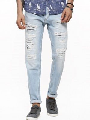 Buy JACK & JONES Erik Rip & Repair Anti Fit Jeans For Men - Men's ...
