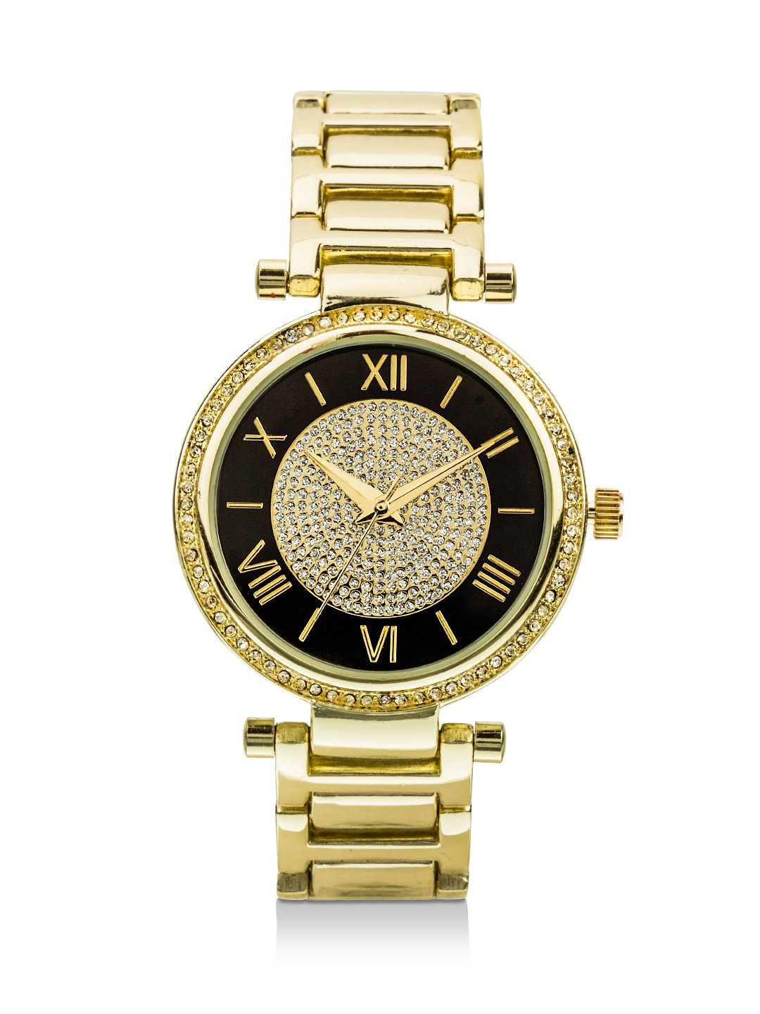 Watches - Chunky white dial gold watch | Joker And Witch