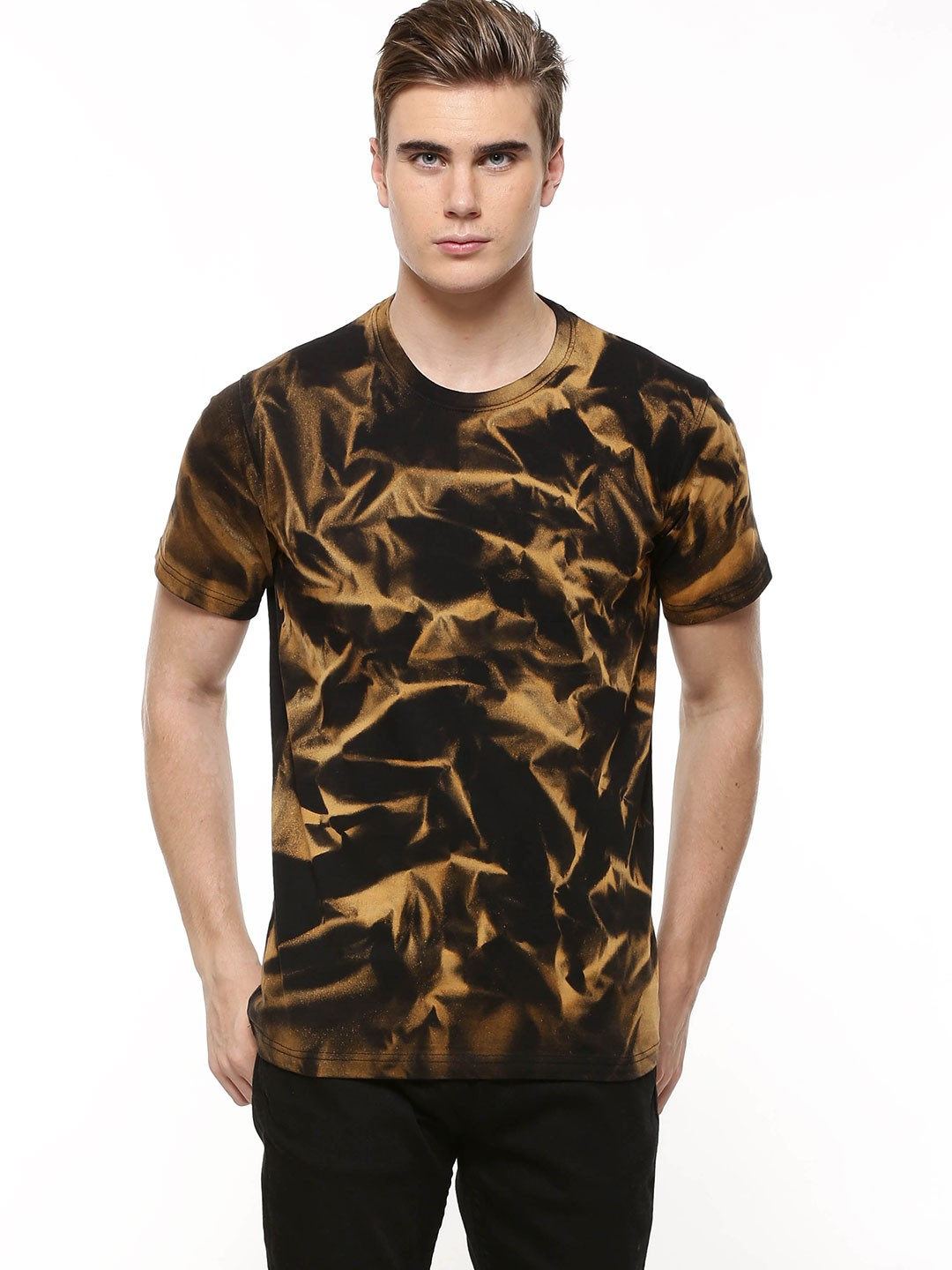 Buy Blotch All Over Stone Wash T Shirt For Men Men 39 S