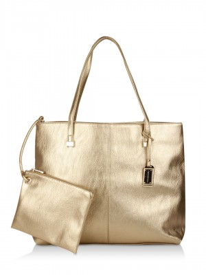 Buy FOREVER NEW Tote Bag For Women - Women's Gold Tote Bags Online ...