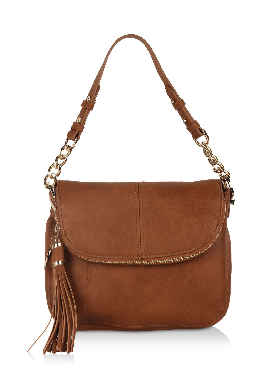 Buy FOREVER NEW Tassel Detail Sling Bag For Women - Women's Brown ...