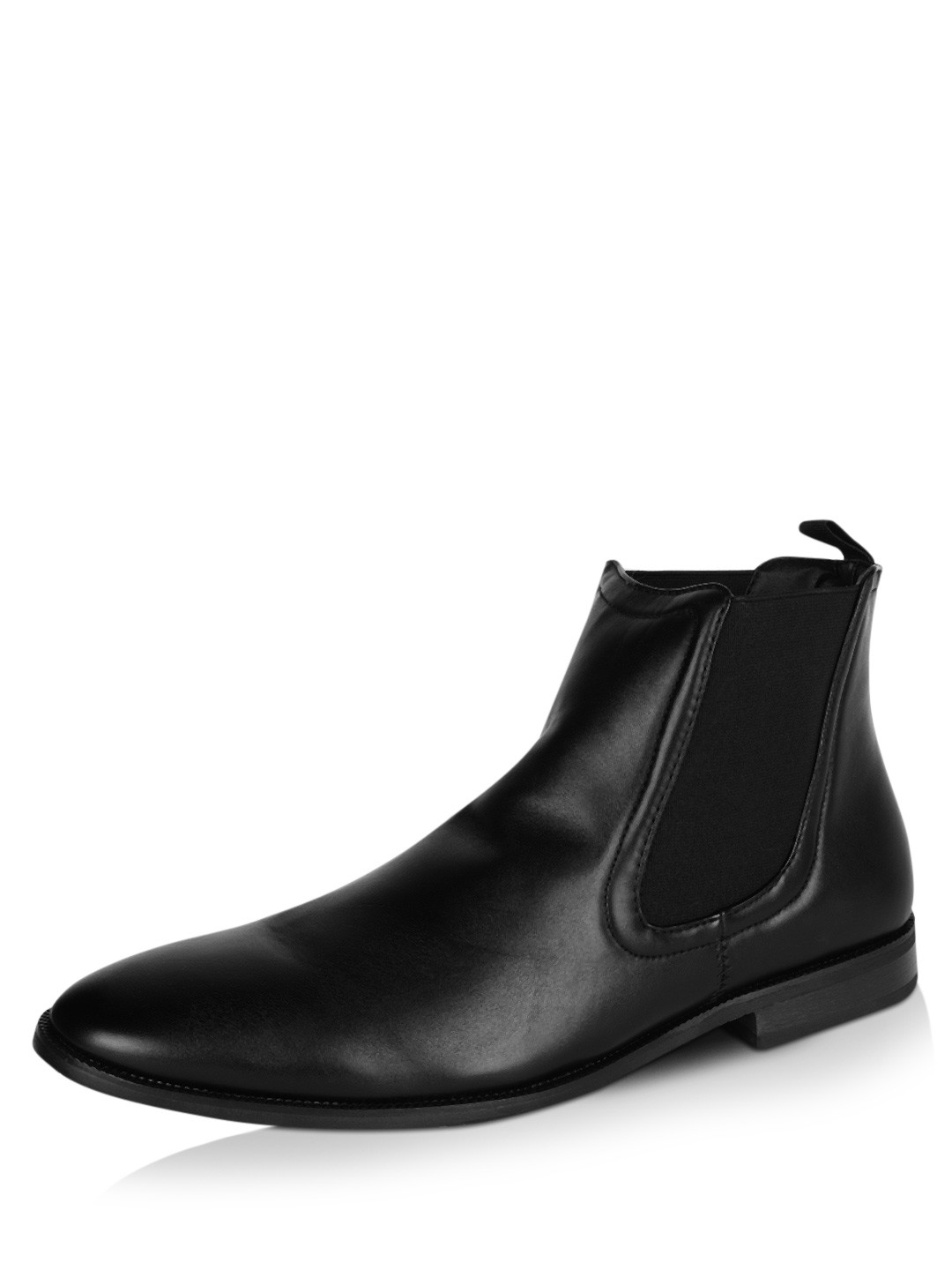buy new look oliver chelsea boots for men men 39 s black boots online. Black Bedroom Furniture Sets. Home Design Ideas