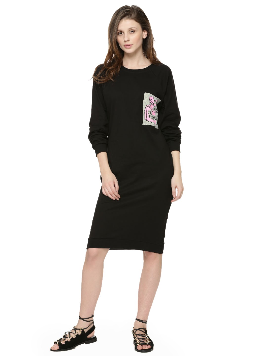 Black t shirt buy online - Spring Break Oversized T Shirt Dress