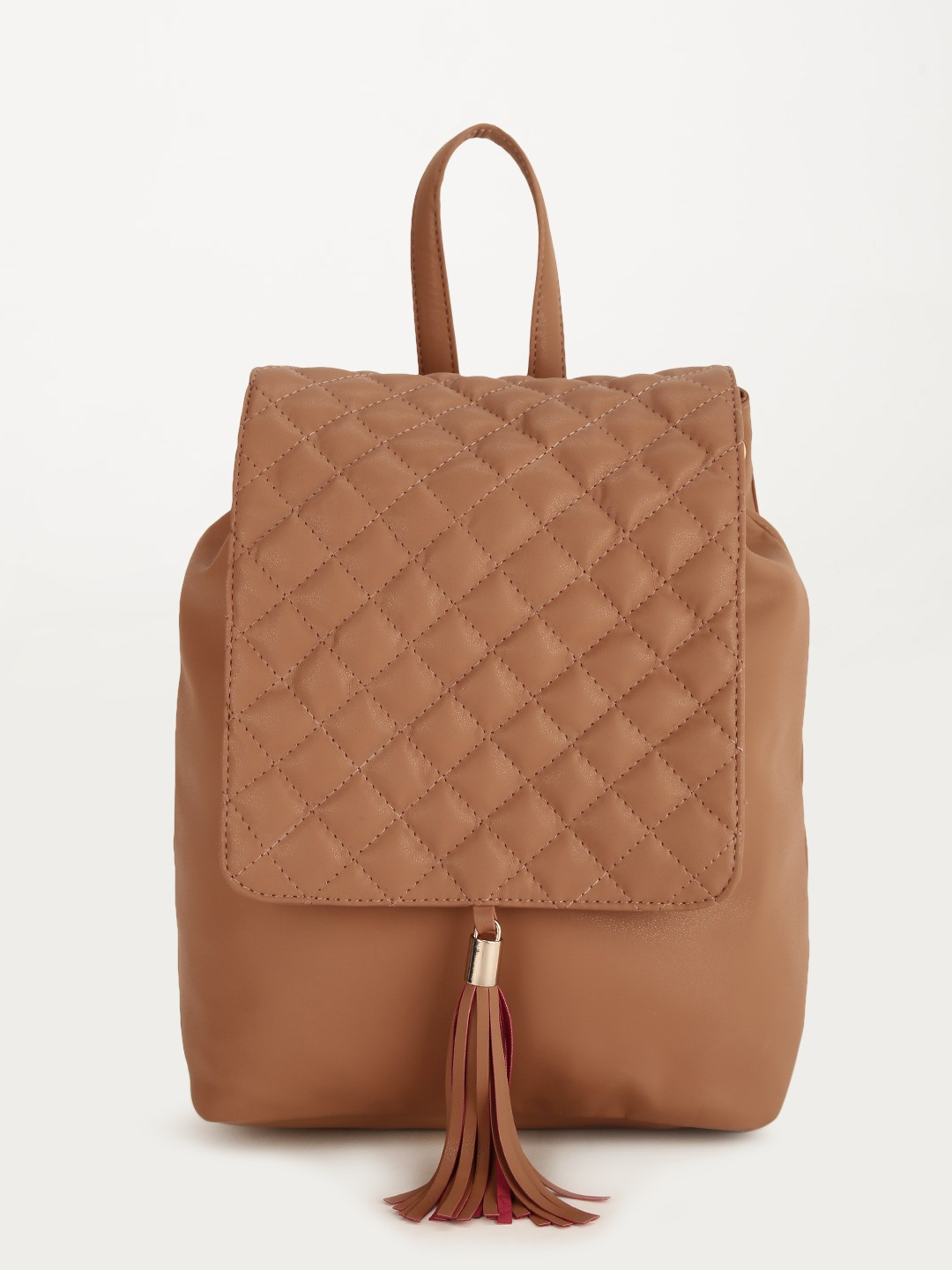 Buy Paris Belle Quilted Backpack For Women Women S Brown