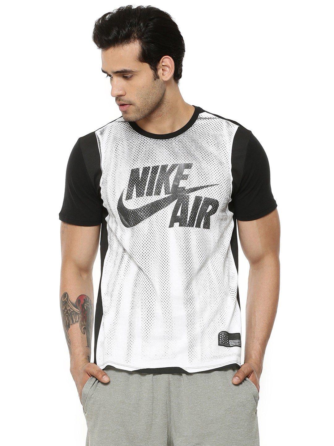 Buy nike jersey t shirt with dri fit for men men 39 s white for Buy dri fit shirts