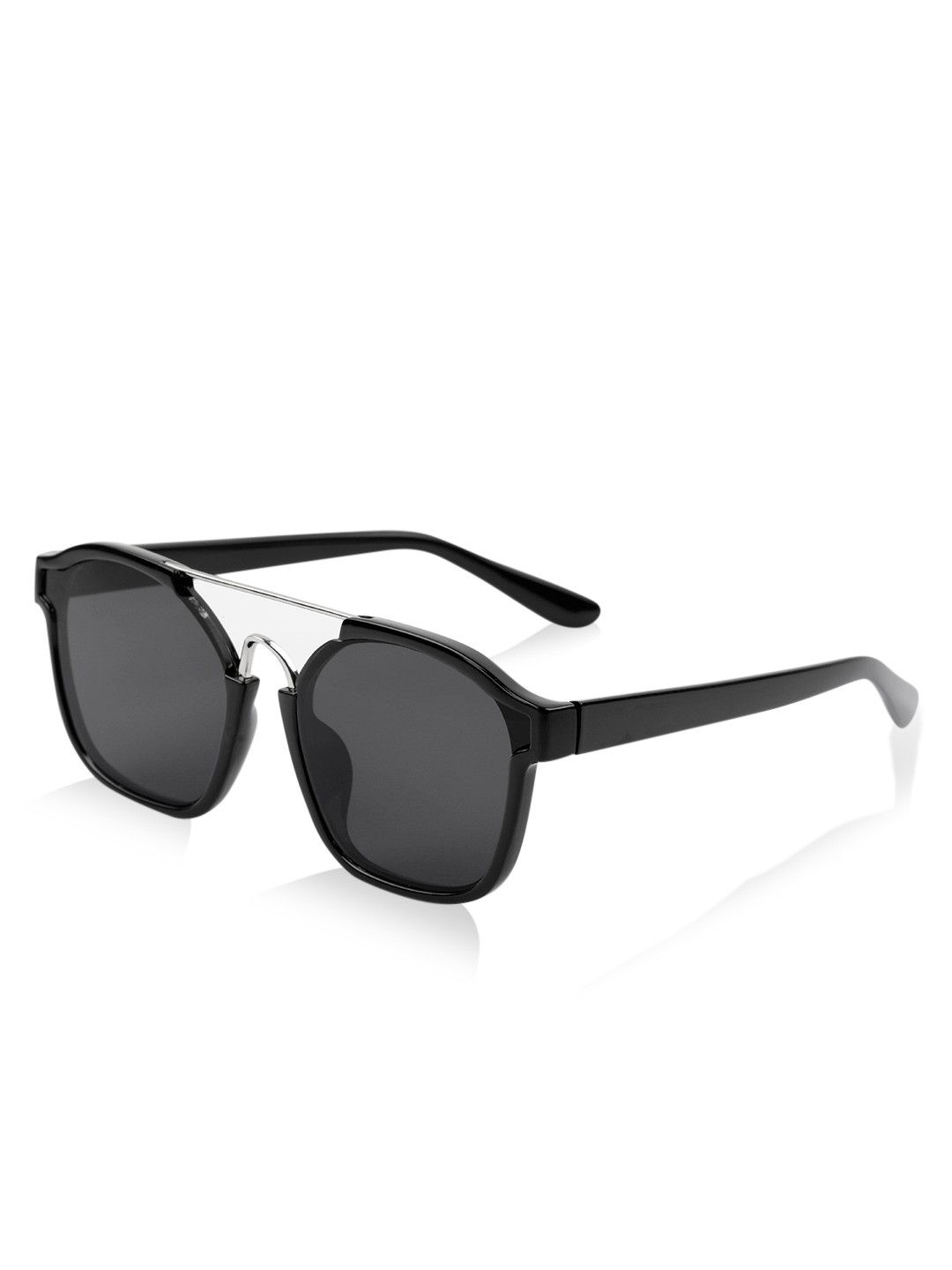 67b01398ec4e Black Visor Flip Out Frame Sunglasses