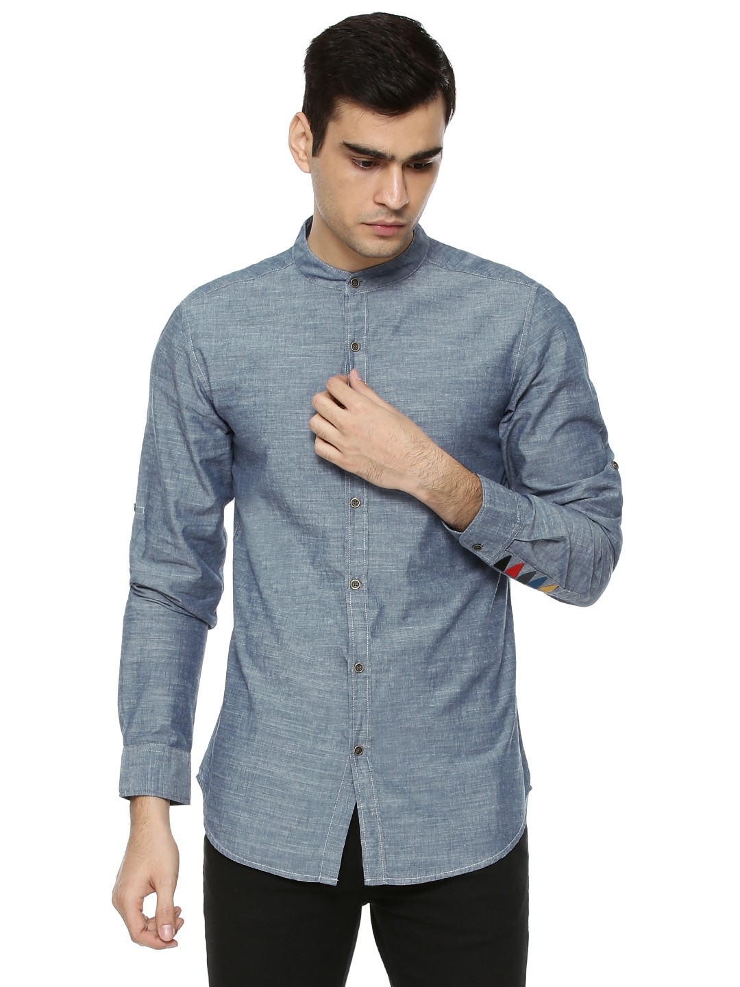Mens Long Sleeved Mandarin Collar Bar Shirt/Mens Shirts. from $ 29 out of 5 stars 3. utcoco. Men's Retro Chinese Style Short Sleeve Linen Henley Shirts. from $ 25 80 Prime. 4 out of 5 stars Daniel Ellissa. Mens White Victorian Tall Collar Nehru French Cuff Shirt DSC $ 45 99 Prime.