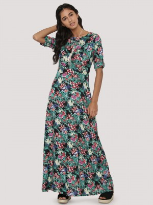 Galerry flared maxi dress online india