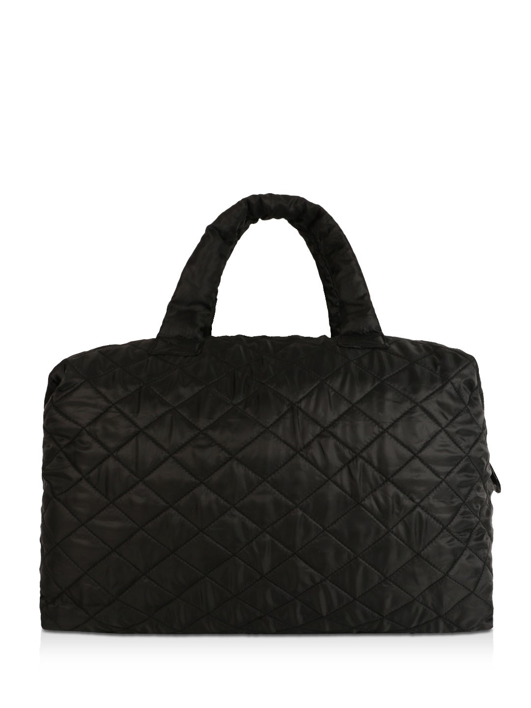 Quilted Weekend Bag Bags More