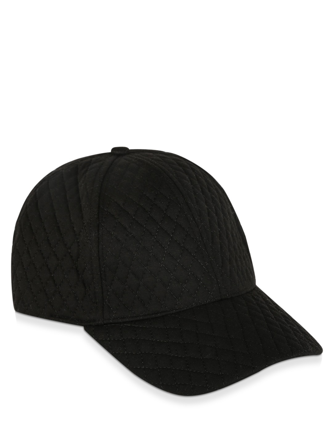 buy new look quilted cap for s black caps