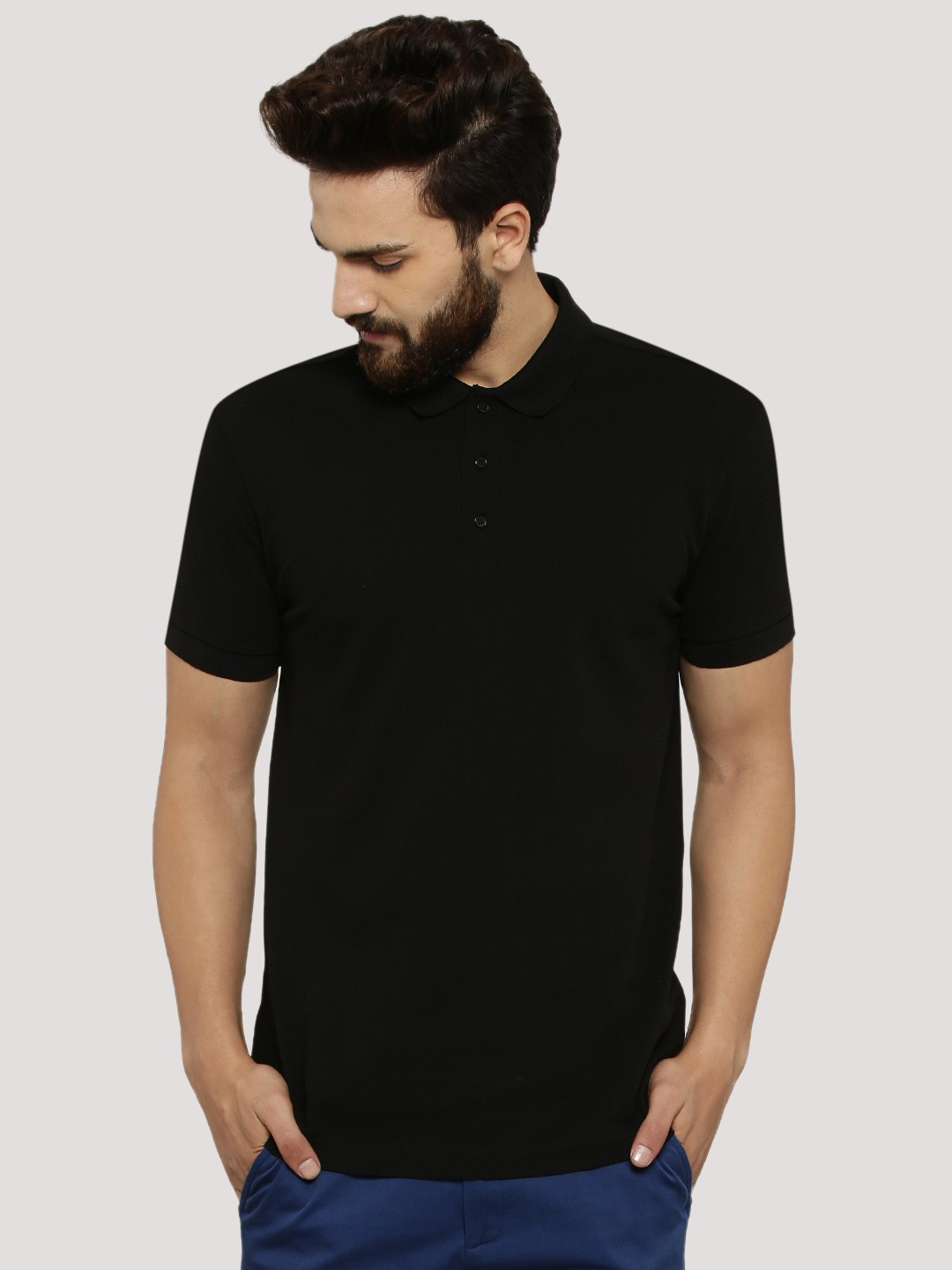 Buy koovs pique button down polo shirt for men men 39 s for Where to buy button down shirts