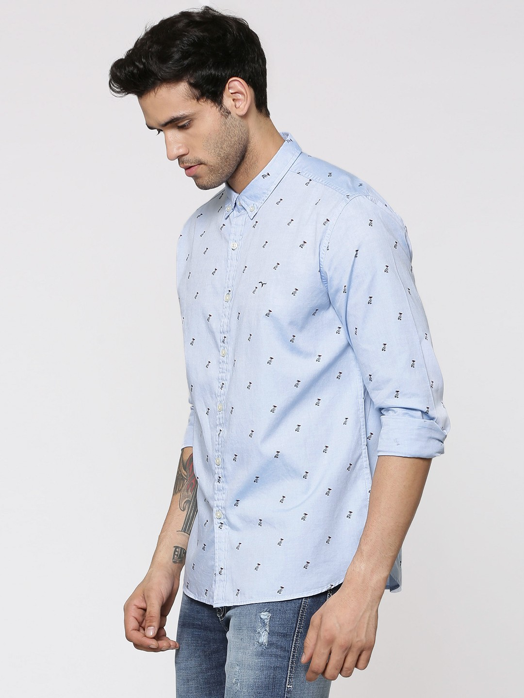 Mens Long Sleeve Summer Shirts