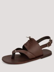 GRIFFIN  Single Tone Leather Sandals