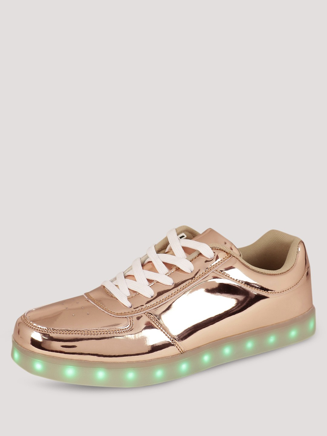 buy koovs light up sole trainers for s gold