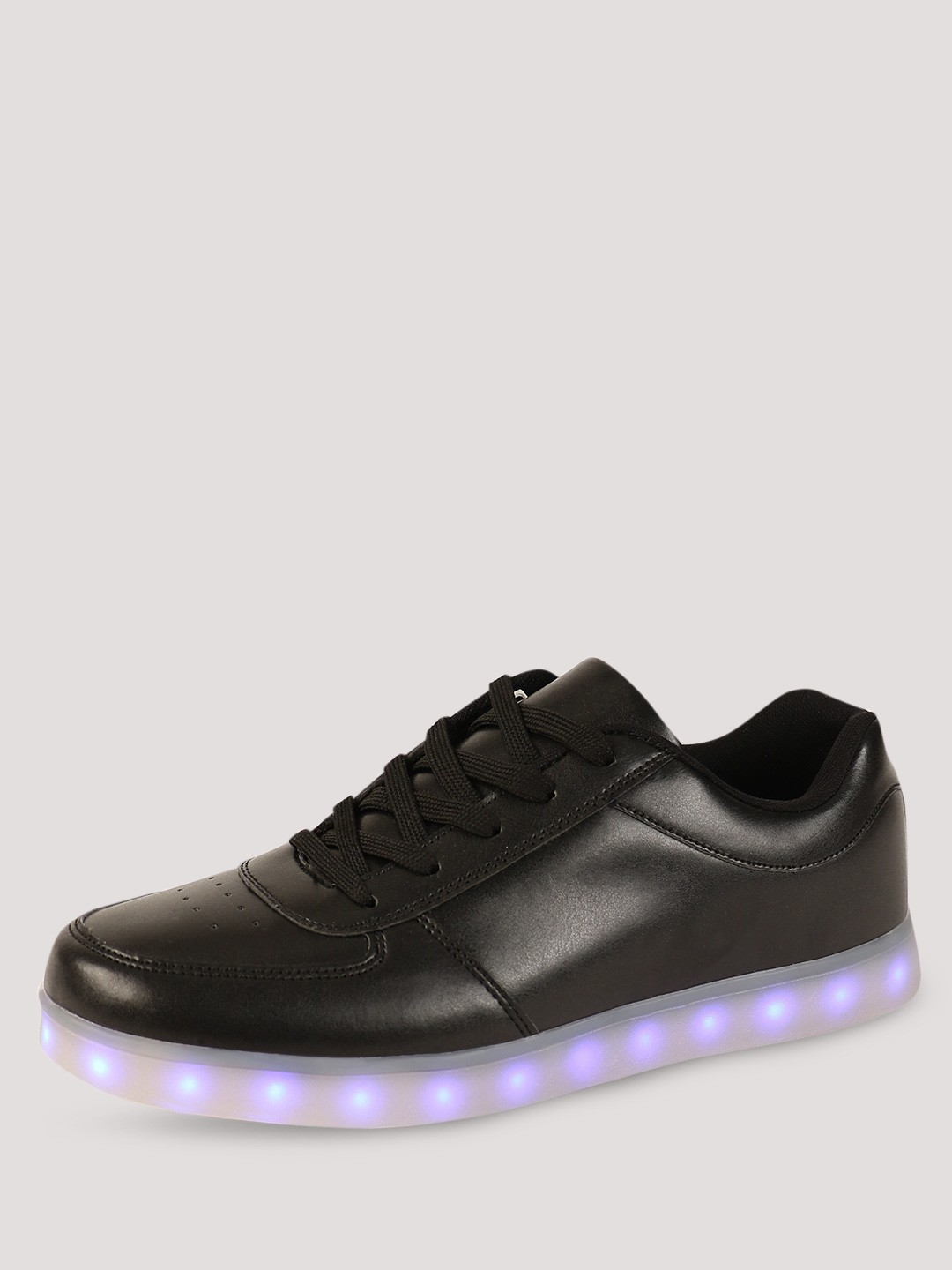 buy koovs light up sole trainers for s black