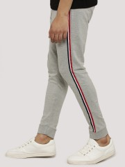 GARCON  Cropped Joggers With Side Tape & Buttons Detail
