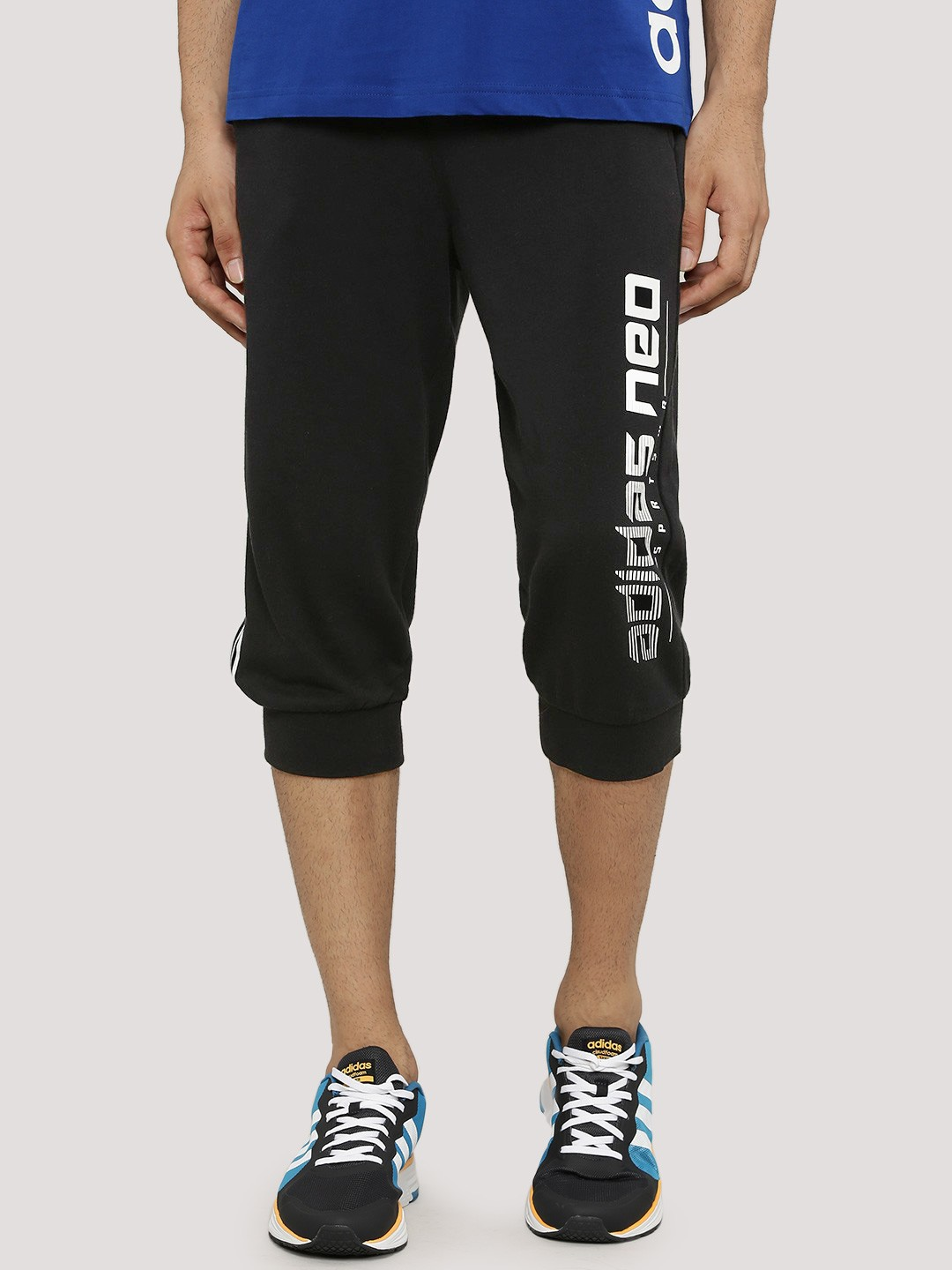 Buy Adidas Neo Cropped Track Pants In Knit For Men Men S