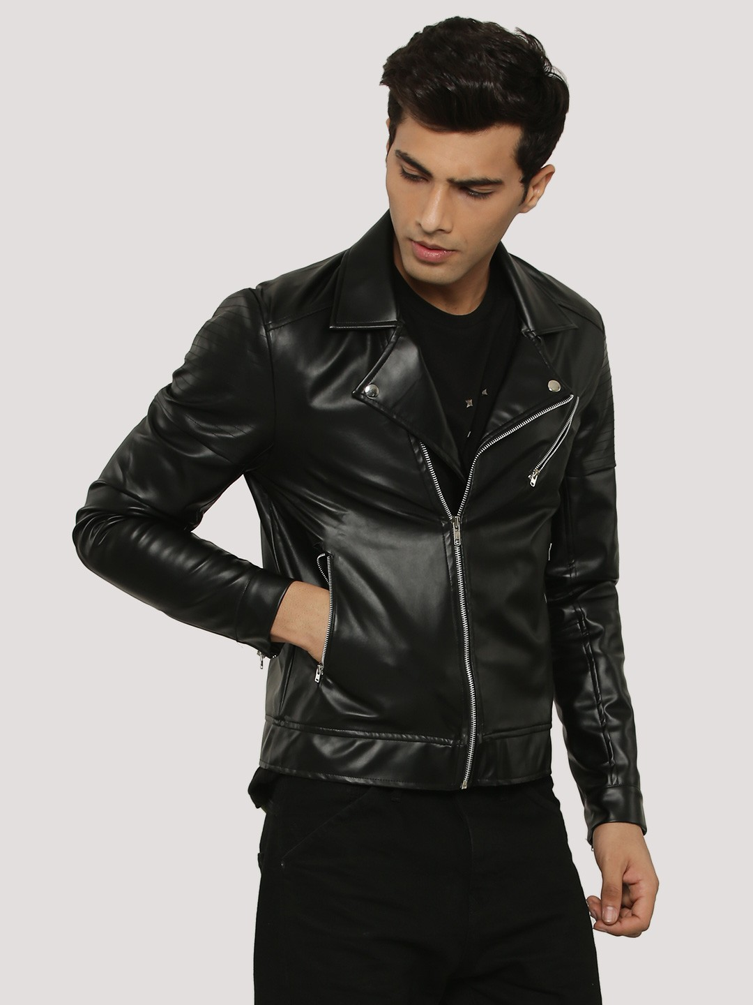 Mens leather jackets online shopping in india