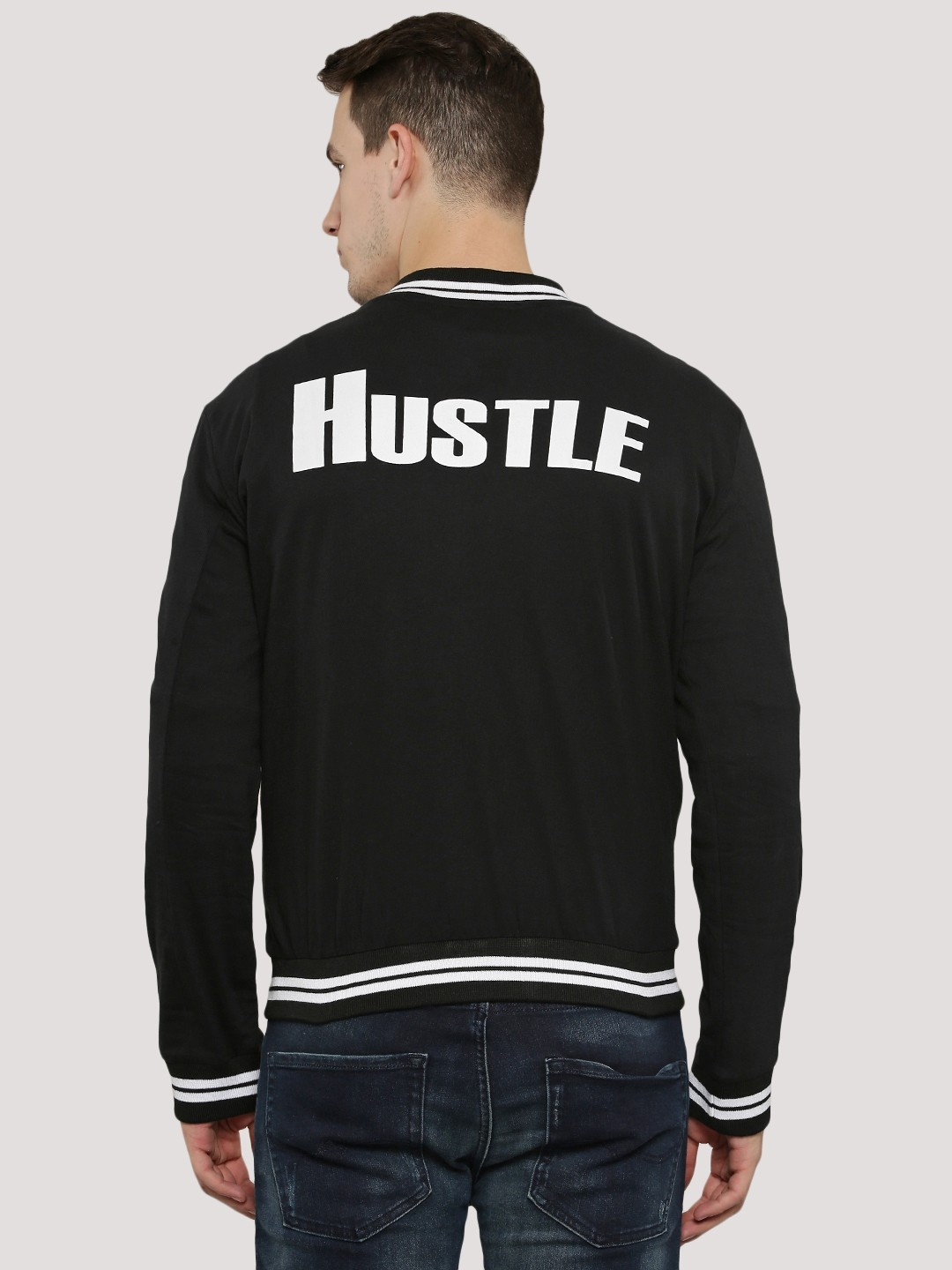 Buy SPRING BREAK Baseball Jacket With Back Print For Men - Men&39s