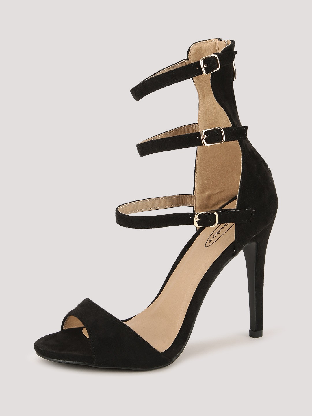 Buy NO DOUBT Multi Ankle Strap Heeled Sandals For Women - Women's ...