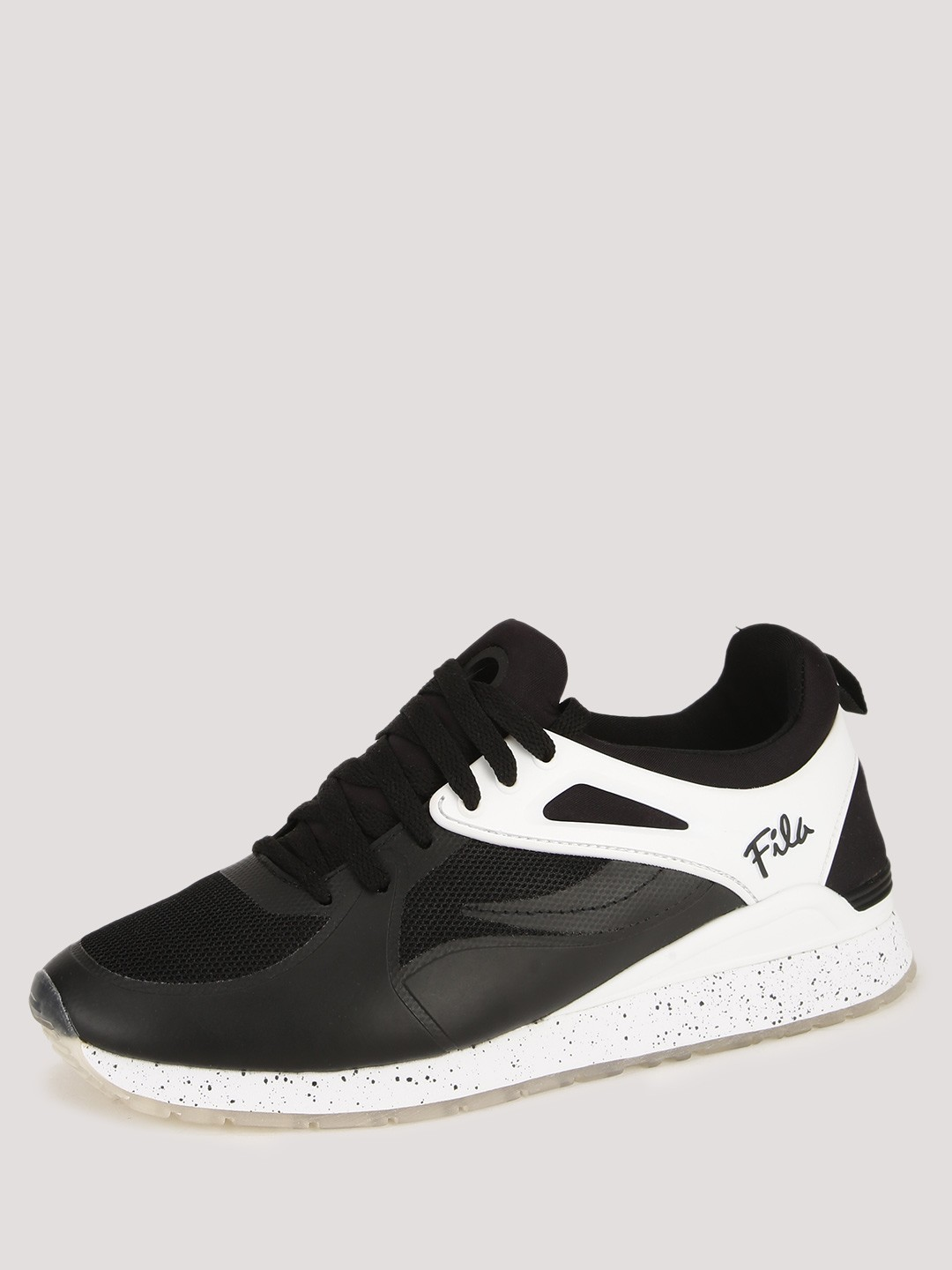 Buy Fila Black Overpass 2 0 Fusion Trainers With Speckled