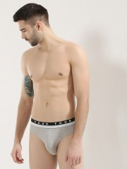 FRENCH CONNECTION Logo Briefs With Contrast Stripe