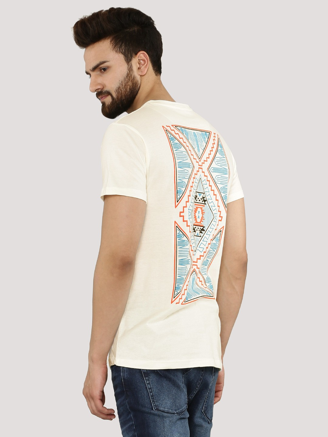 buy styx stones back print t shirt for men men 39 s white