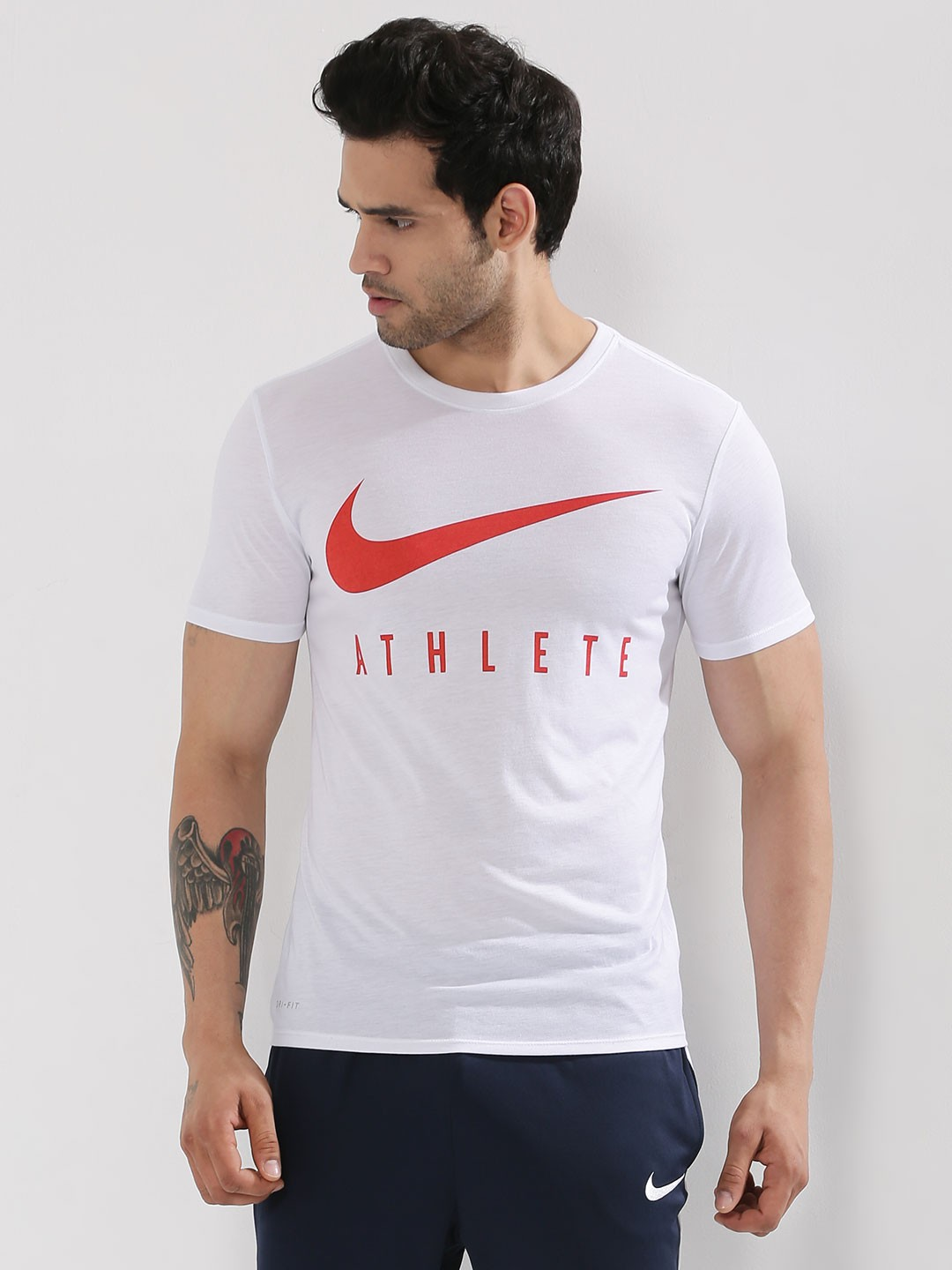Buy nike dri fit athlete training t shirt for men men 39 s for Buy dri fit shirts